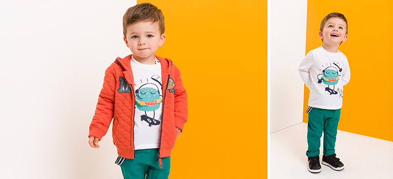 Kids and baby clothes at best prices Mister Miam orchestra 2017