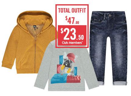 Remise Club Orchestra -50% sur les vêtements toute l'année pour les membres du Club
